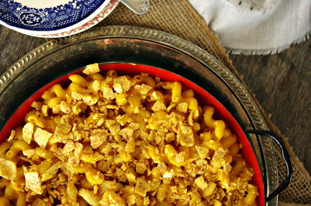 Three Cheese Pumpkin Mac 'n Cheese | Dixie Chik Cooks