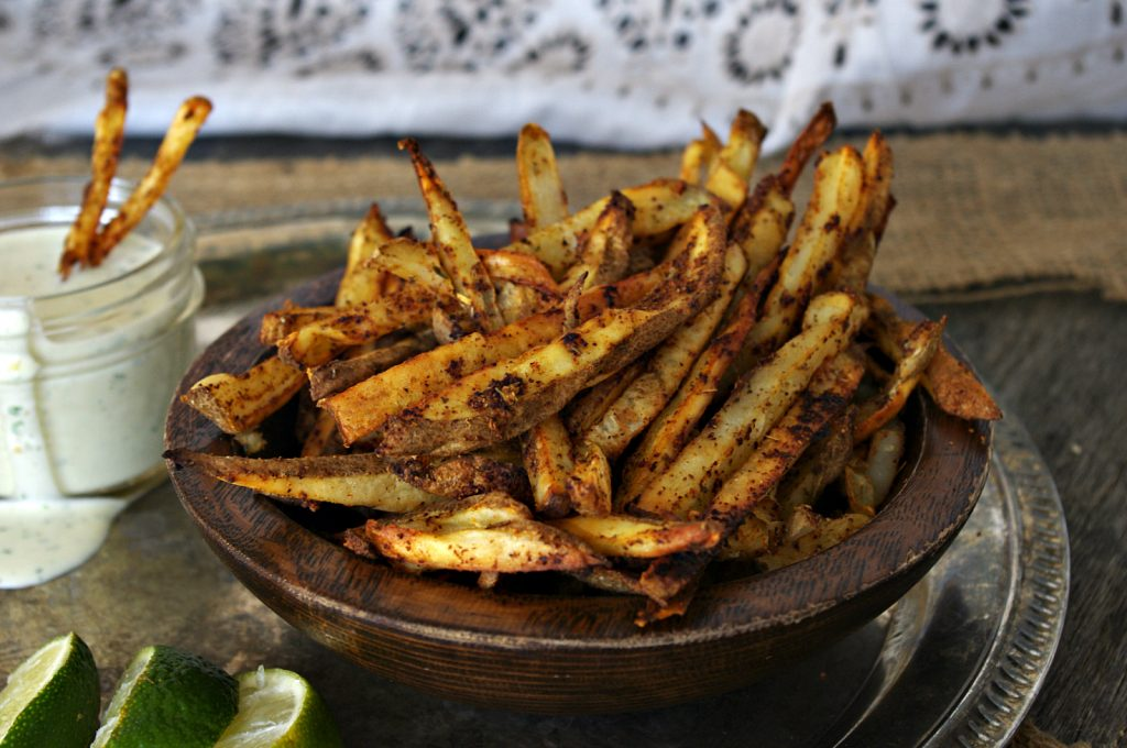 Mexican Street Fries | Dixie Chik Cooks