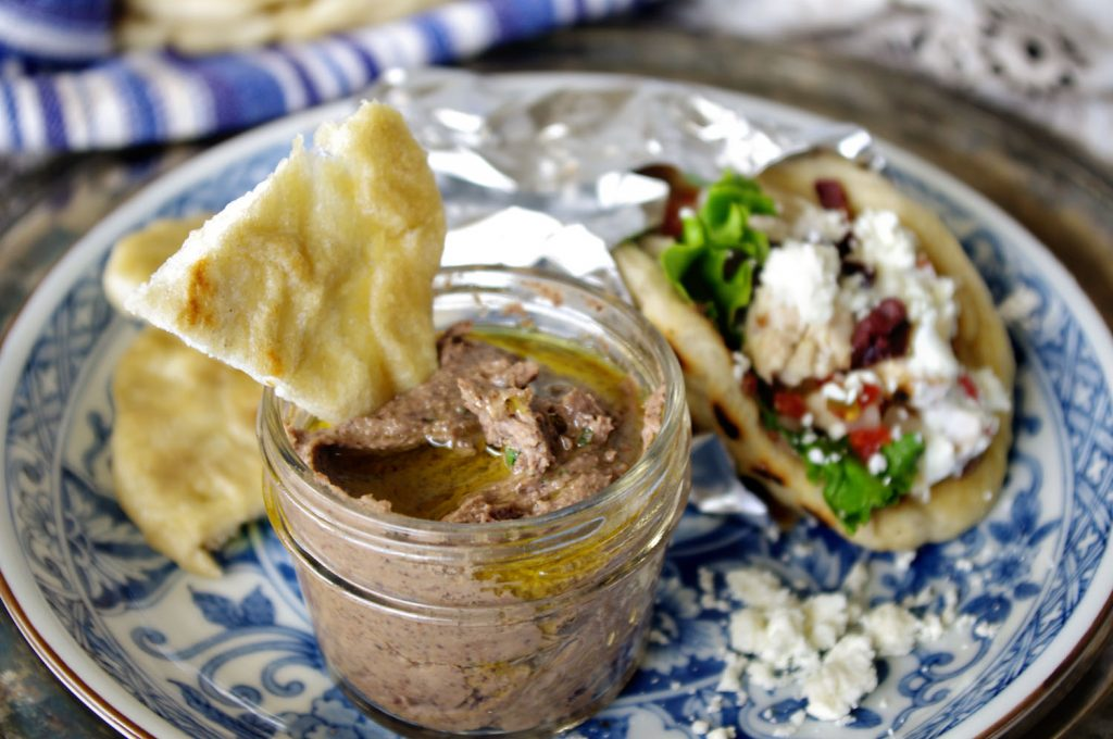 Black Bean Chipotle Hummus