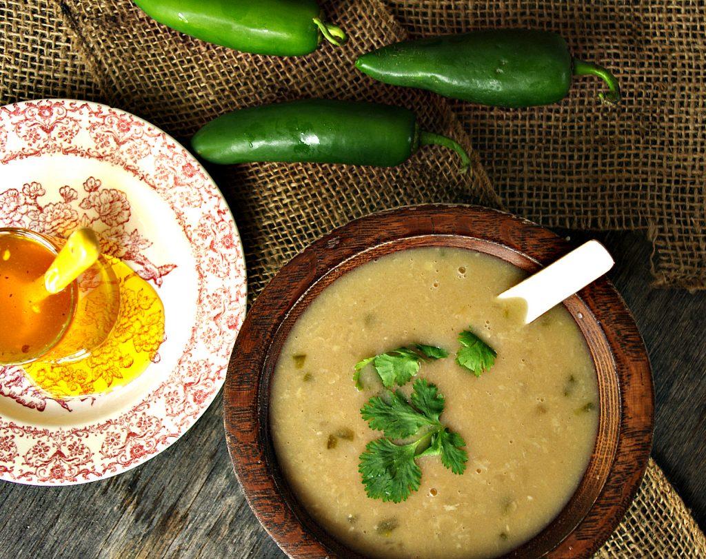 Coconut Jalapeno Soup