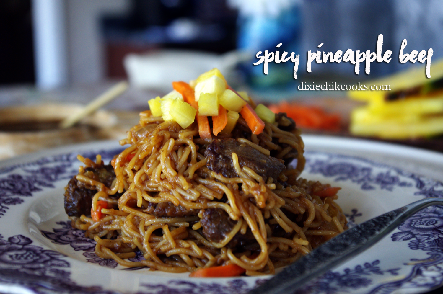 Spicy Pineapple Beef