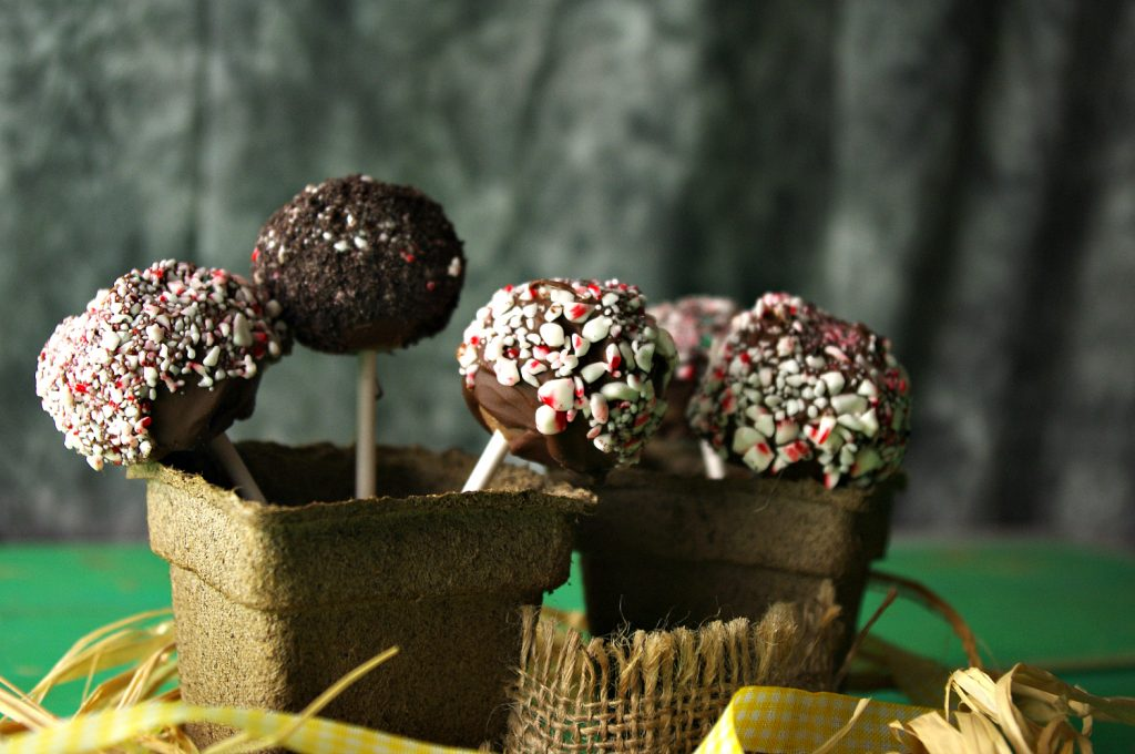 Cookie Dough Cake Pops