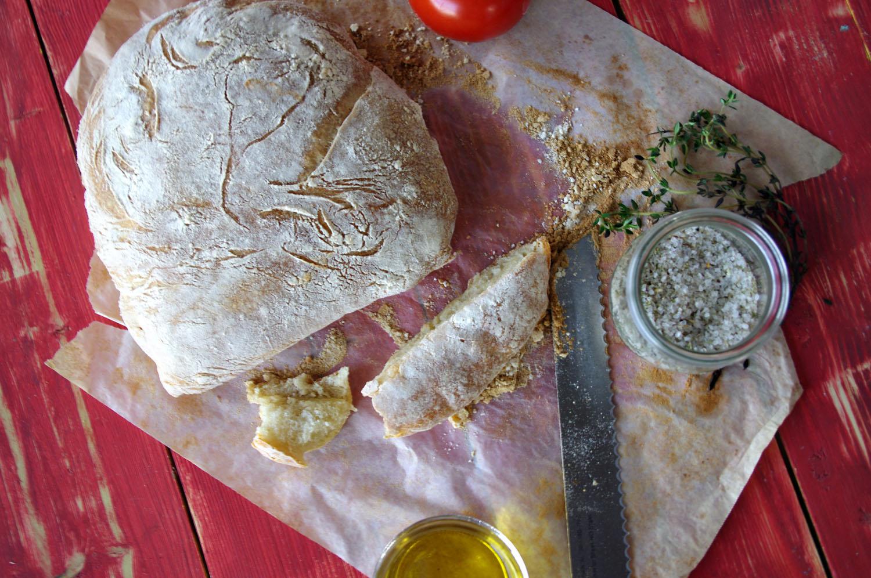 Authentic Ciabatta (Italian Slipper Bread)