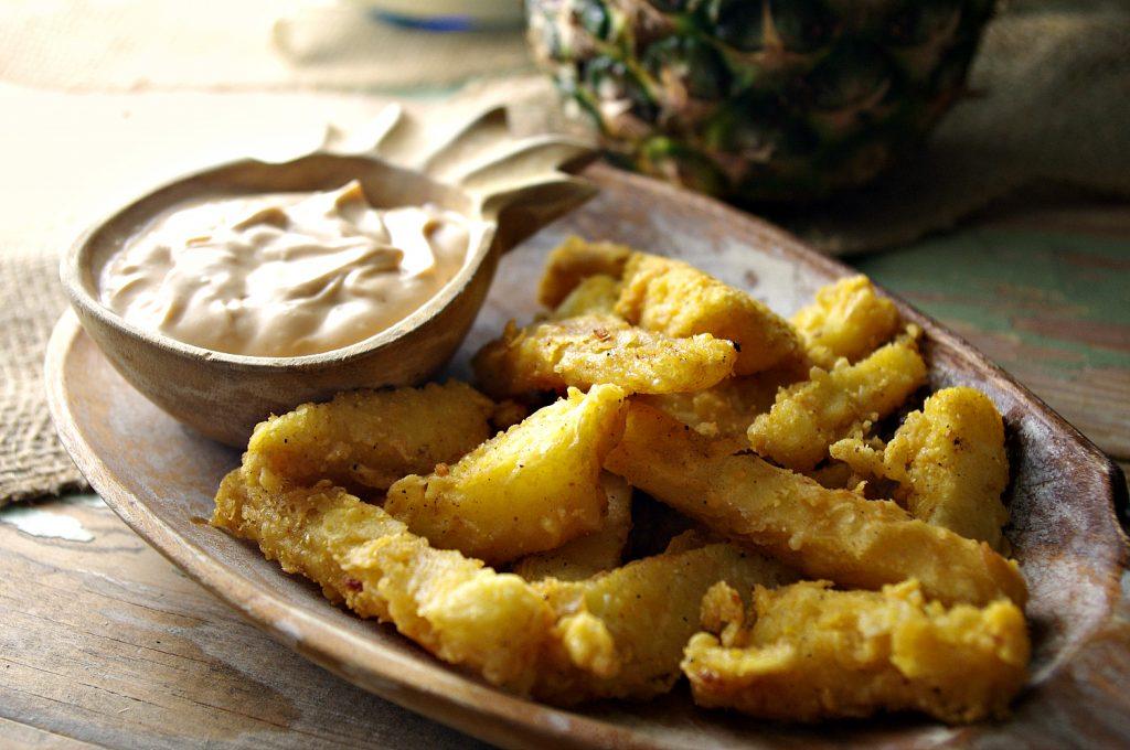 Fried Pineapple | Dixie Chik Cooks