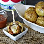 Meatball Stuffed Pretzels