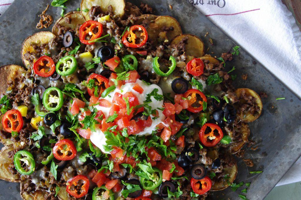Sheet Pan Pachos   Dixie Chik Cooks