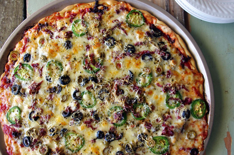 Puttanesca Pizza