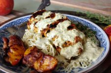 Creamy Cilantro Cheese Stuffed Chicken