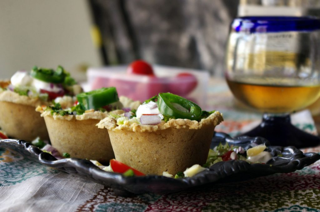 Smoked Chicken Tamale Cups|Dixie Chik Cooks