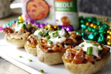 Twice Baked Jambalaya Potatoes