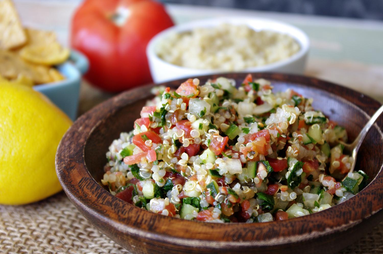 Quinoa Tabbouleh   Dixie Chik Cooks