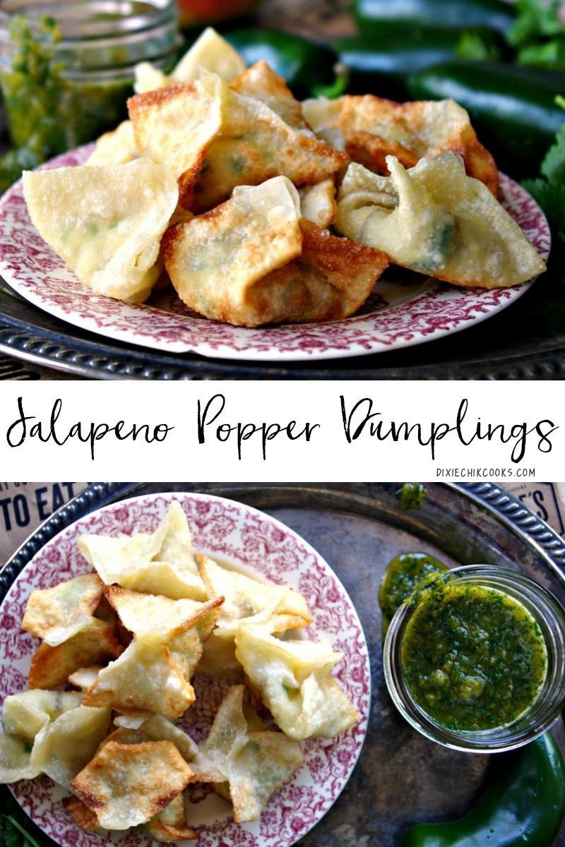 Jalapeno Popper Dumplings