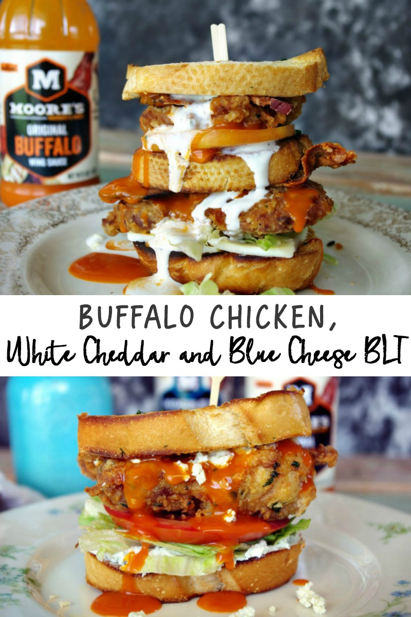 Buffalo Chicken, White Cheddar and Blue Cheese BLT