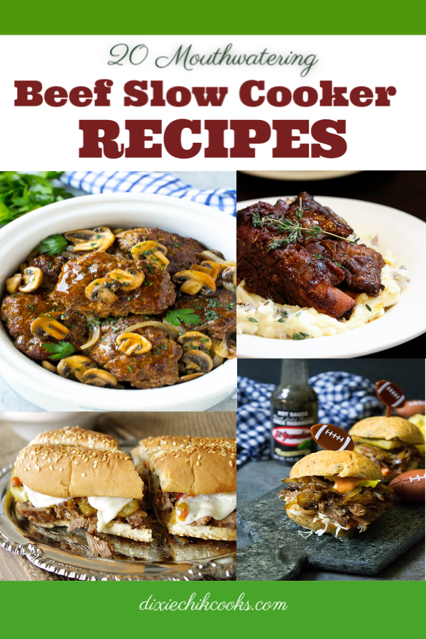 20 Beef Slow Cooker Recipes