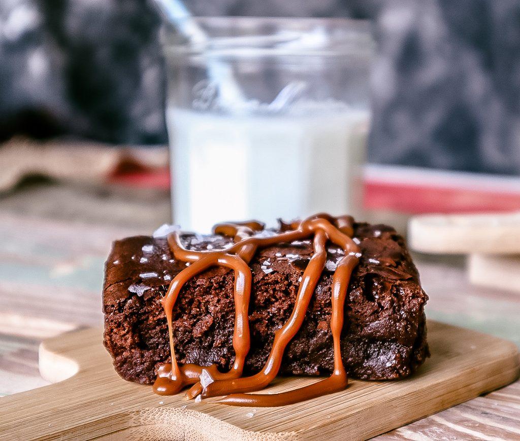 Maldon Salted Brownies