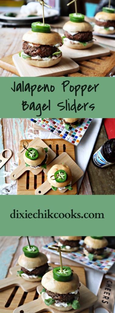 Jalapeno Popper Bagel Slider Pin