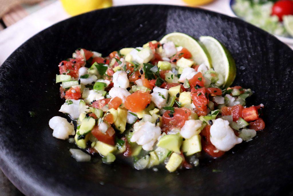 Shrimp Ceviche   Dixie Chik Cooks
