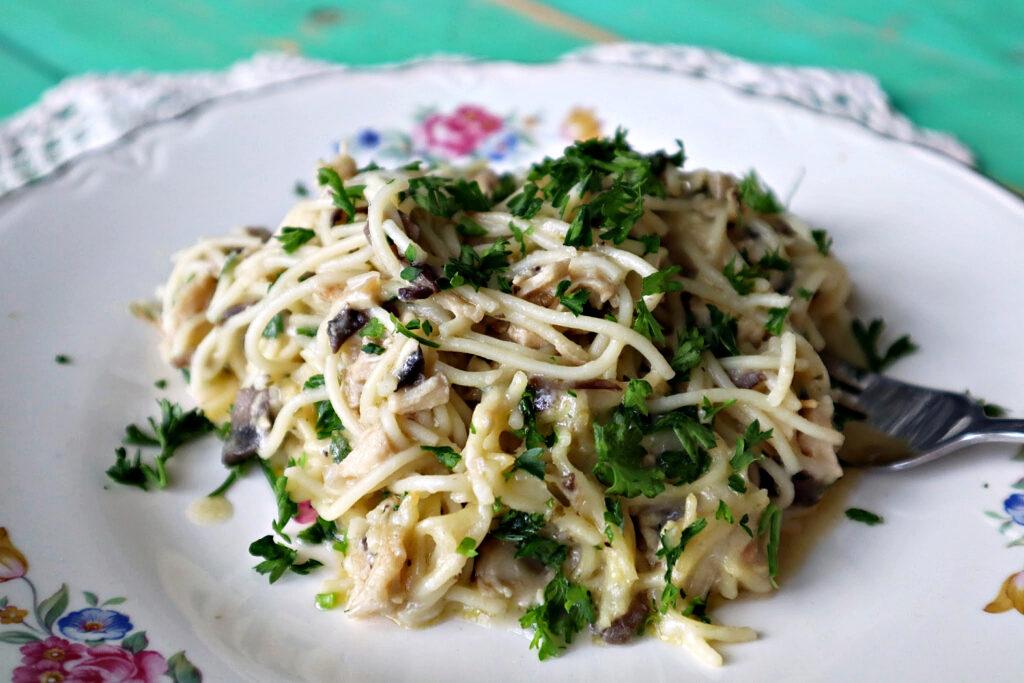 Chicken Tetrazzini