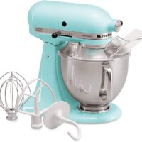 KitchenAid Artisan Series 5-Qt Stand Mixer with Pouring Shield - Ice