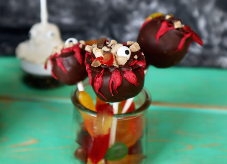 Witch's Cauldron Cake Pops