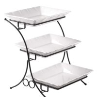 3 Tier Porceliein Buffet Server