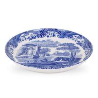Spode Blue Italia Pasta Bowl | Dixie Chik Cooks