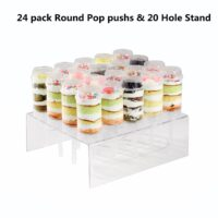 20 Hole Push Pop Cake Stand