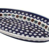 Polish Pottery Nature Small Oval Platter