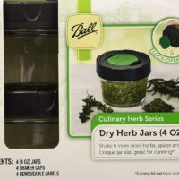 Ball Canning Dry Herb Jars