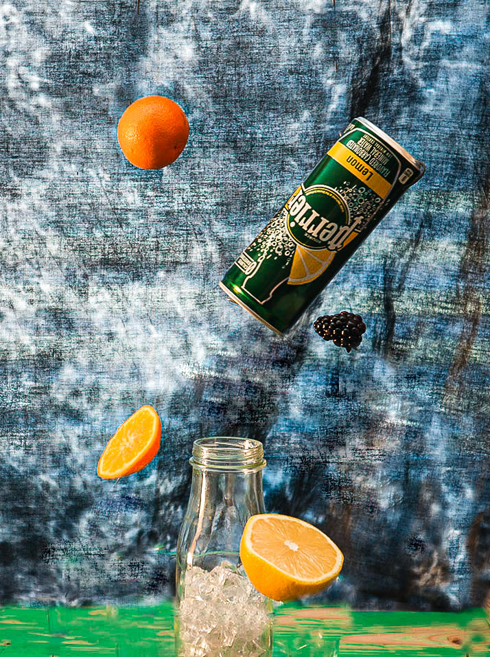 Perrier Mocktail