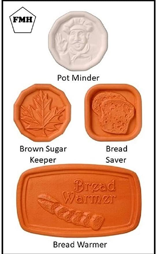 FMH Cook's Helper Collection - Bread Saver, Pot Minder, Bread Warmer