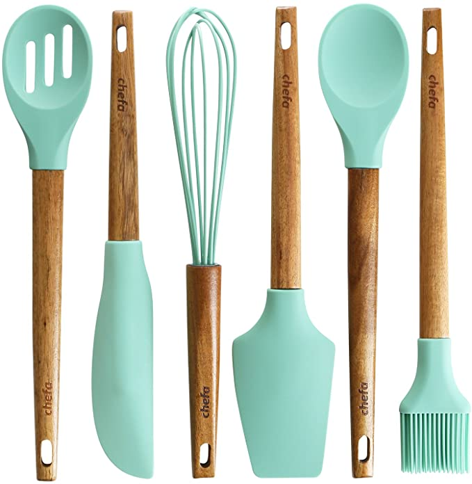 Silicone Baking Utensils Balloon Whisk Slotted Amp Solid