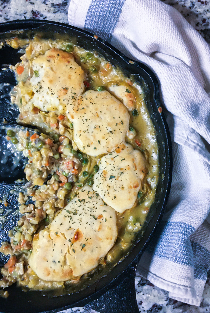 Sherried Chicken Pot Pie