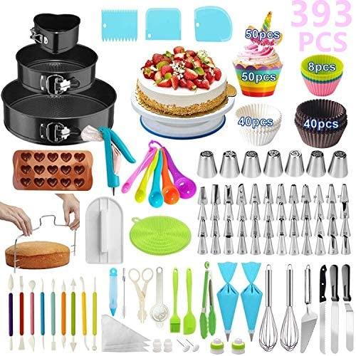Cake Decorating Supplies, 393 PCS | Dixie Chik Cooks