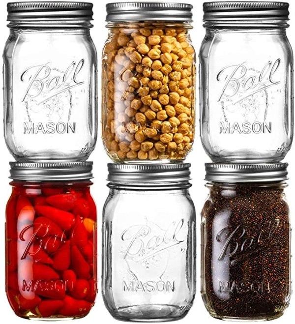 Ball Mason Jars 16 oz Bundle