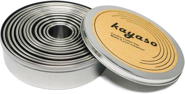 Kayaso Round Cutters